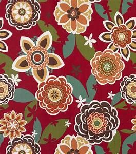 Outdoor Fabric- Solarium Annie Cherry fabrics