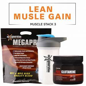 Supplement Stack For Lean Muscle Gain