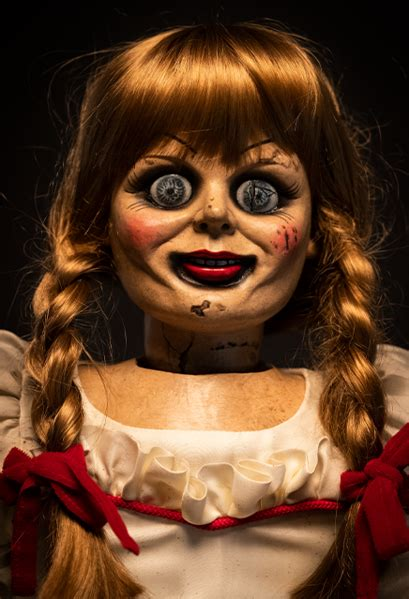 conjuring annabelle    scale doll  trick