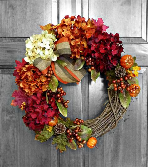 wreaths for fall fall wreath front door wreaths fall decorations by refinedwreath