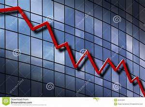 Down Trend Chart Stock Image Image 22494501