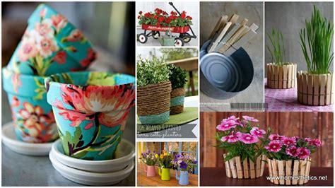 diy flower pots creative diy herbs flower pots for your home
