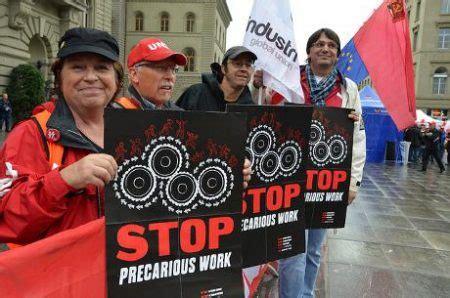 precariat   precarious workers   st century