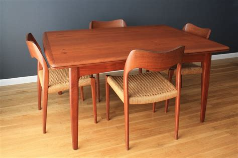 dining room tables san modern teak dining table by svend a madsen at 1stdibs