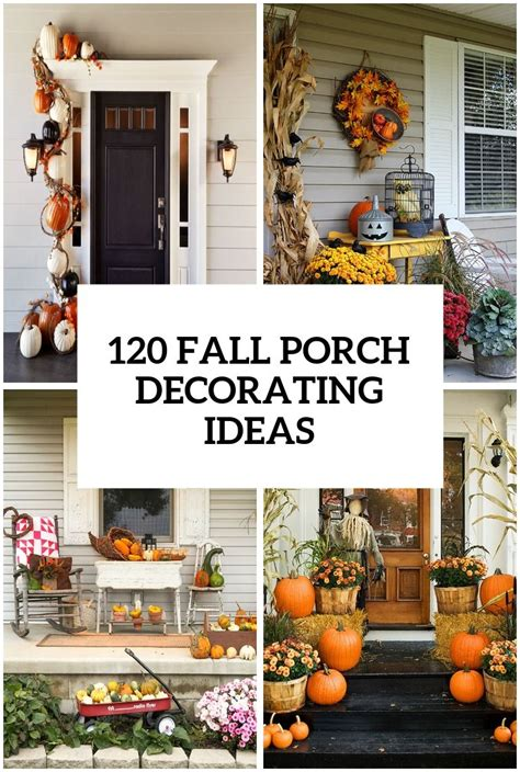Ideas For Fall Front Porch by 120 Fall Porch Decorating Ideas Fall Fall Decor Fall