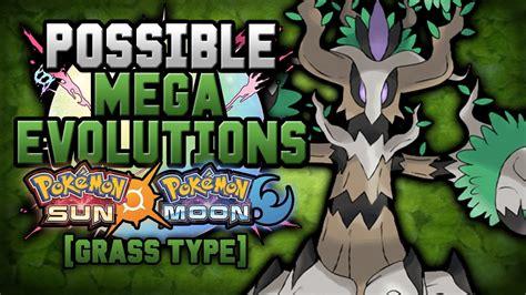 New Mega Evolutions In Pokemon Sun And Moon [grass Type