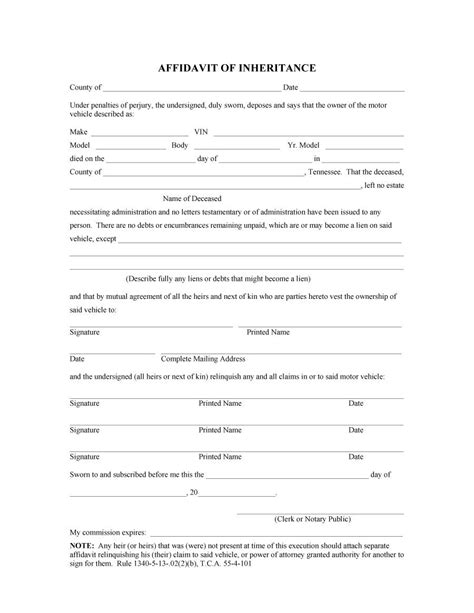 affidavit template 48 sle affidavit forms templates affidavit of support form
