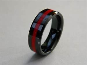 mens firefighter wedding bands mini bridal With ems wedding rings