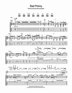 Rory Gallagher Bad Penny : bad penny guitar tab by rory gallagher guitar tab 41198 ~ Orissabook.com Haus und Dekorationen