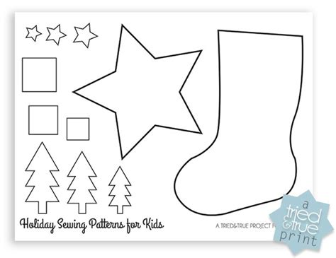 christmas stocking beginner sewing pattern fairfield