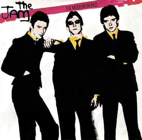 the jam single the modern world the jam information pages by kevin lock