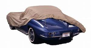 Covercraft 1964-1968 Ford Mustang Custom Fit Car Covers, Tan Flannel Tan C453TF