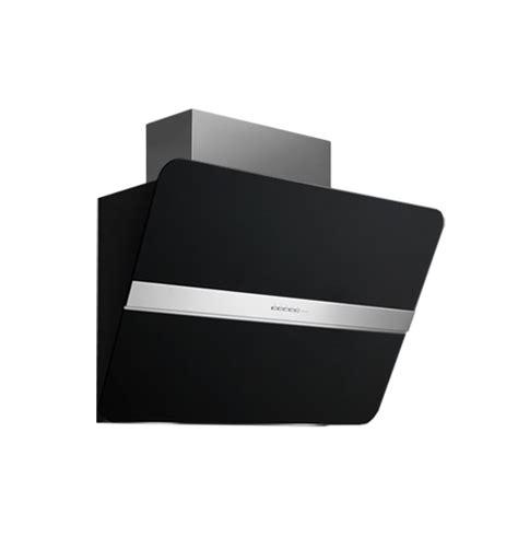 hotte de cuisine noir falmec hotte murale flipper nrs noir acier et verre