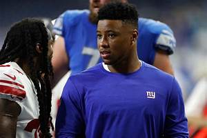 Giants Rb Saquon Barkley Practicing Fully Had A Good Day