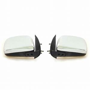 L  R Door Mirror Set Manual Fits Toyota Hilux Vigo Kun26