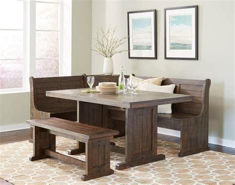sunny design homestead breakfast nook  side bench ebay