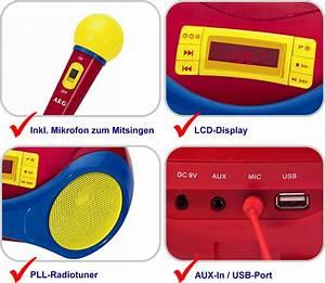 Kinder Mp3 Player : aeg sr 4363 stereo radio usb cd mp3 player mikrofon senderspeicher anlage kinder ebay ~ Sanjose-hotels-ca.com Haus und Dekorationen
