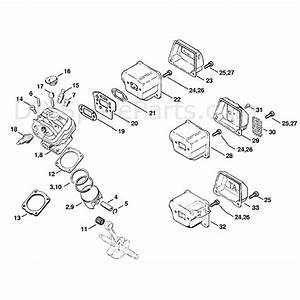 Ty 8339  Stihl Chainsaw Parts Diagram Moreover Stihl