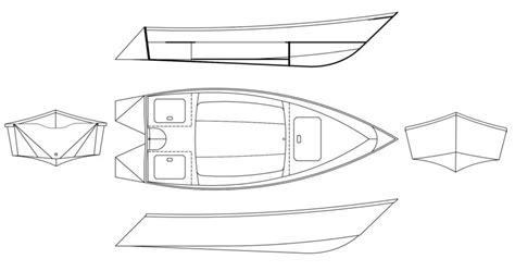 Skiff Dimensions by 13 Small Boats Monthly