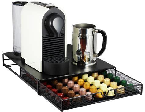 nespresso pack bureau decobros coffee pod storage mesh nespresso drawer holder
