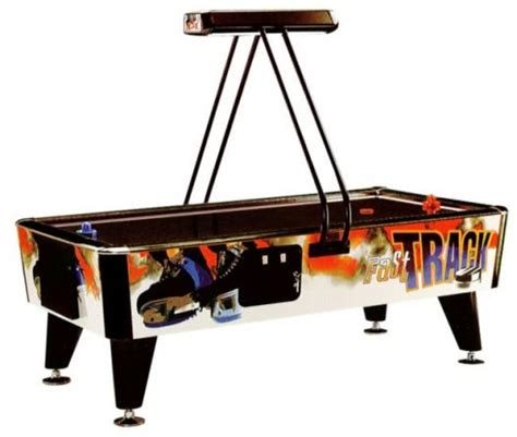 arcade quality air hockey table reconditioned fast track mk1 8ft commercial air hockey table