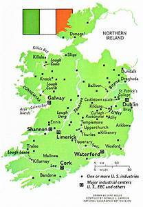 Pz C  Map Of Ireland