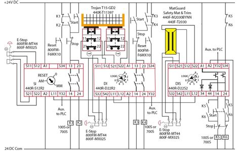 Cat 3 Safety Diagram interlock architectures pt 4 category 3 reliable