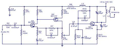 Help Understand Simple Walkie Talkie Circuit Diagram