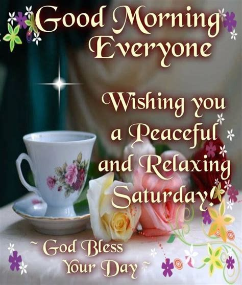 Good Morning Everyone Wishing A Peaceful And Relaxing ...