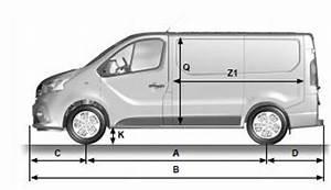 Dimension Opel Vivaro : manuel du conducteur renault trafic opel vivaro nissan primastar dimensions ~ Gottalentnigeria.com Avis de Voitures