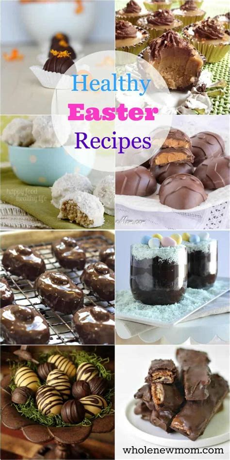 Photo from sugar free mom. Healthy Easter Dessert Recipes - gluten-free & vegan   Whole New Mom