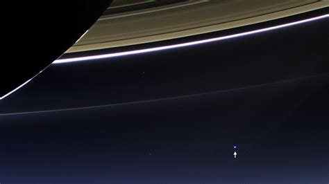Earth Seen From Space Nasa Cassini Messenger
