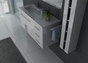 Meuble Simple Vasque : meuble salle de bain ref urban b ~ Teatrodelosmanantiales.com Idées de Décoration