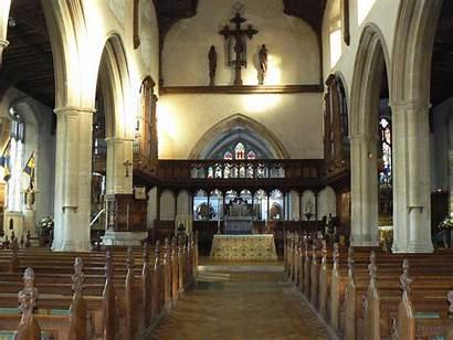 Blakeney Church Inside Churches Medieval Norfolk Cathedral