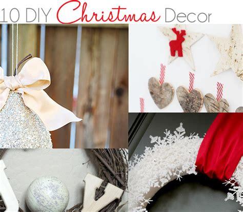 10 diy christmas decor ideas 187 little inspiration