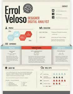 creative graphic designer resume sle 17 awesome exles of creative cvs resumes