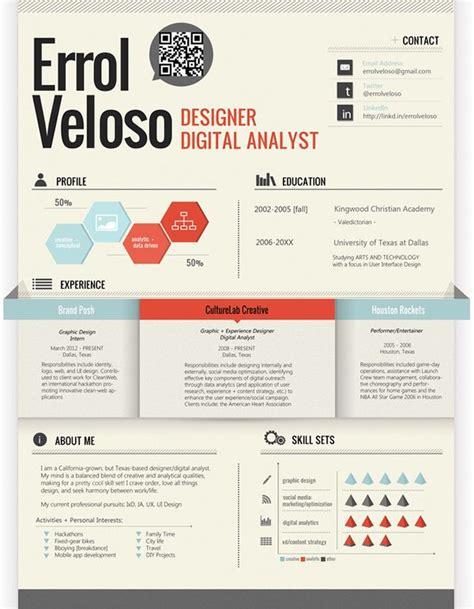 desain company profile terbaik 17 awesome exles of creative cvs resumes guru