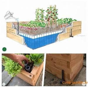 Potager Hors Sol : potager en hauteur haut potager un coin jardin pour tous ~ Premium-room.com Idées de Décoration