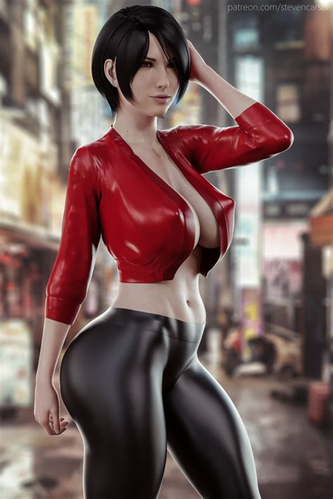 Rule 34 1girls 3d Abs Absurdres Ada Wong Big Breasts