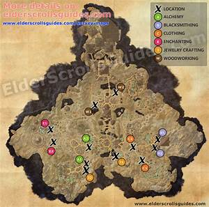 Coldharbour Survey Report Map Elder Scrolls Online Guides
