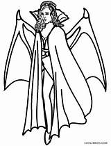 Vampire Coloring Pages Printable Cool2bkids sketch template