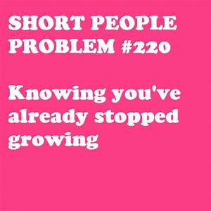 short girl problems quotes