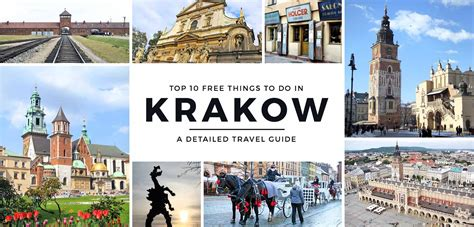travel bureau travel guide top 10 free things to do in krakow poland