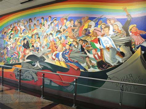 Denver Airport Murals Conspiracy Debunked by Debunking The Denver Airport Conspiracy Memoir Of A