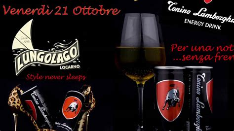 Tonino Lamborghini Energy Drink Party