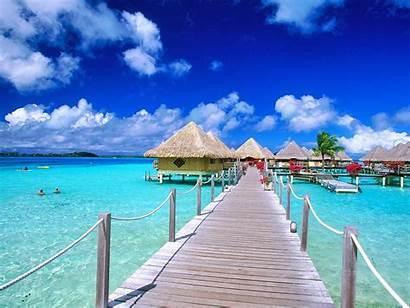 Beach Tropical Desktop Beaches Exotic Pretty Beauty