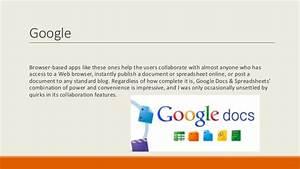 enhancing collaboration using web With google docs spreadsheet collaboration