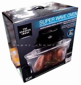 New Sharper Image Super Wave Oven Superwave Convection