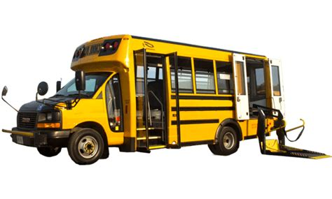 Wheelchair Accessible School Bus - Attridge