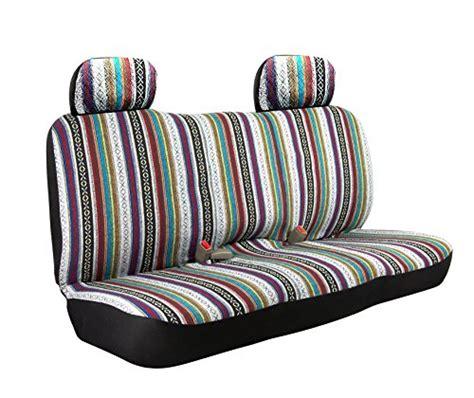 saddle blanket bench seat cover saddle blanket weave baja inca bench seat cover size